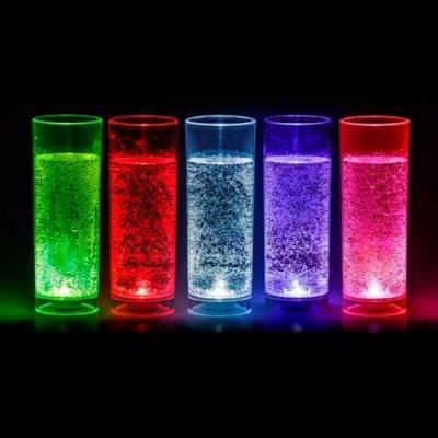 Copo Long Drink com LED Ativado com Líquildo 320 m