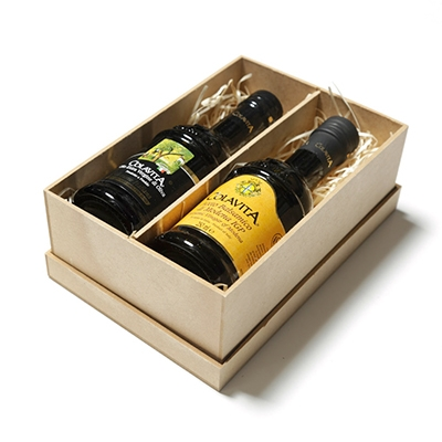 Kit com Azeite Extra Virgem italiano e Vinagre Balsâmico Italiano