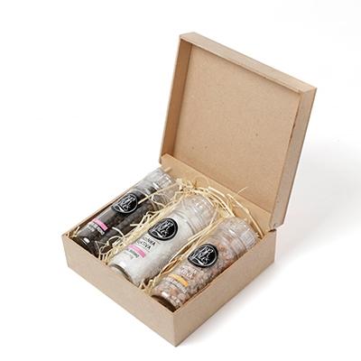 - Kit de moedores com temperos especiais gourmet