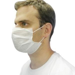 Máscara de TNT  Lavável Com Elástico