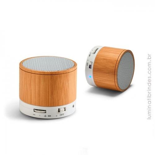 - Caixa de Som Bamboo Bluetooth