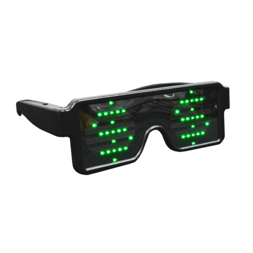 - Óculos Dinâmico LED com 8 Efeitos - Hutz