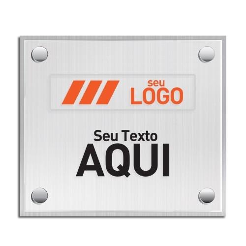 Placa Fachada De Acrilico Personalizada para Lojas