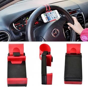 Porta de celular para volante veicular