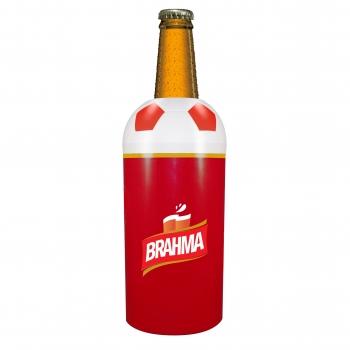 Porta garrafa 600ml vermelho