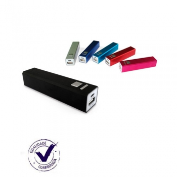 Carregador Portátil Personalizado USB