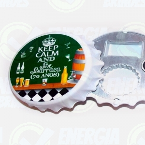 abridores - Abridor de Garrafa de Cerveja Personalizado