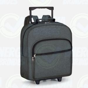 Mochilas personalizadas, mochilas femininas, mochila masculina, mochila para notebook   - Mochila com Rodinhas para Notebook Personalizada