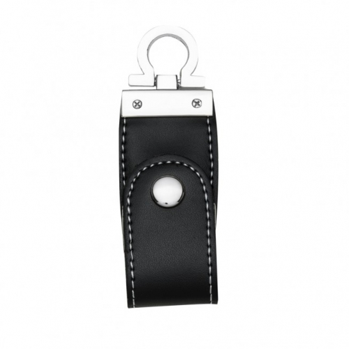 Pen drive personalizado, pen card personalizado, brindes para informática - Pen Drive Couro 4GB