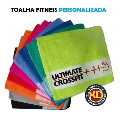 Toalha personalizada - Toalha Fitness (academia) Personalizada