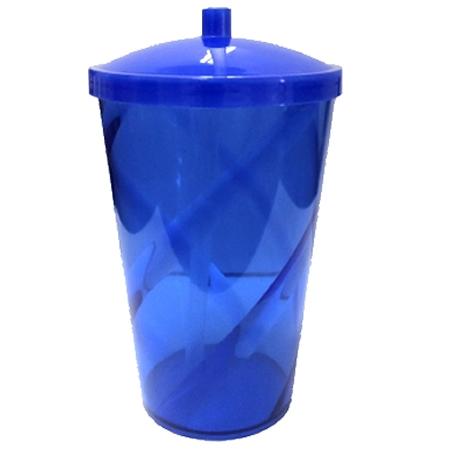 Copo Twister, efeito Espiral, 700 ml, acrilico PS, Cores Diversas, Personalizados