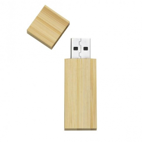 Pen drive personalizado, pen card personalizado, brindes para informática - Pen Drive 4GB Bambu