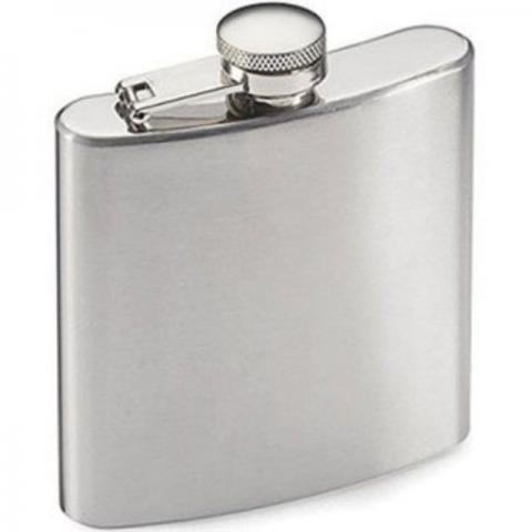 porta whisky Cantil de metal 235 ml (8 oz)