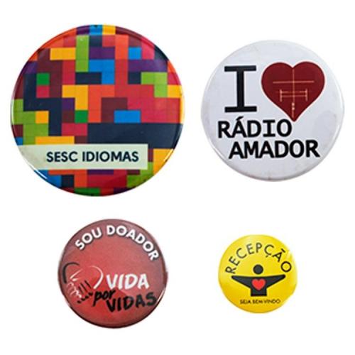 Pin personalizado, Bottom personalizado - Bottons Personalizados