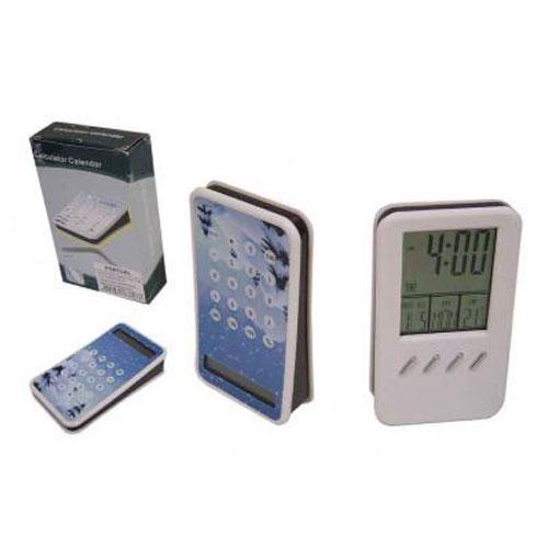 - Relógio plástico c/ calculadora