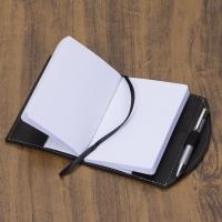 Caderneta tipo Moleskine com Caneta 13131