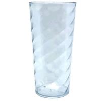 Long TWISTER copo Acrílico (PS) compre personalizado ou liso, sem gravar